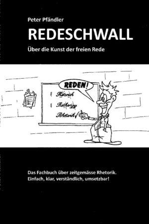 Buchdeckel Redeschwall sw